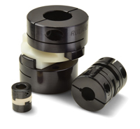 Ruland Zero Backlash Oldham Shaft Couplings: Clamp & Tornillo Prisionero, Aluminio Hubs with Acetal or Nylon Disks