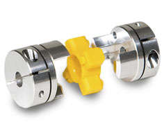 Inch to metric jaw coupling