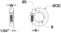 TCN-02-F Line Drawing